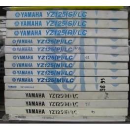 manuali manuale uso e manutenzione Yamaha YZ -WR F