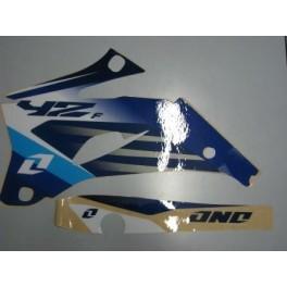 adesivi grafiche ONE Yamaha WR 400 F 1998-2001 YZ250F-450F 2006-2009