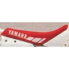 copertina sella coprisella Yamaha YZ  125-250 1990 rossa replica