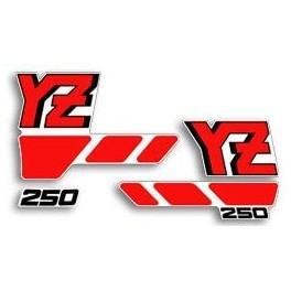 Adesivi Yamaha YZ 250 1988 kit grafiche non originali