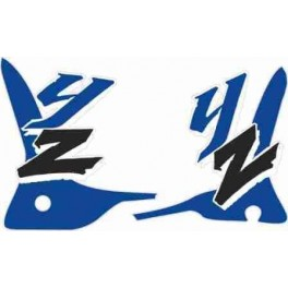 Adesivi Yamaha YZ-WR 125- 250  1993-1994-1995 adesivo color nero-blu non originale