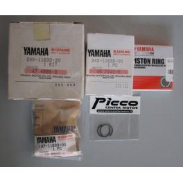 YA 24X1163020 KIT PISTONE 2 MAGGIORAZIONE YAMAHA YZ 125  1982-1983-1985