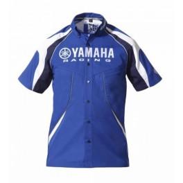 camicia Yamaha blu paddock taglia XL