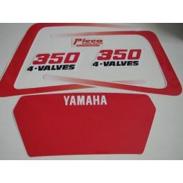 Adesivi Yamaha XT 350 1987-1988 non originali