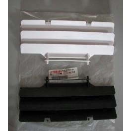 griglia radiatore originale Yamaha YZ 80 2000-2001 YZ 125-250 1993-1994-1995-2000-2001 4EW-2172A-00 BIANCA O 4EW-2172A-10  NERA