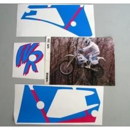 Adesivi Yamaha WR 250 1991 kit grafiche non originali