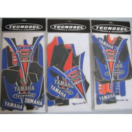 adesivi Yamaha YZ-YZF-WRF 125-250-400-426-450  2000-2001-2002-2003 TECNOSEL