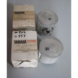 YA 24X116310095 PISTONE (STD)- YZ 125  1982-1983-1985