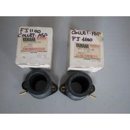 collettori aspirazione originali Yamaha FJ 1100-1200 1986-1992 36Y-13586-00 36Y-13596-00 coppia