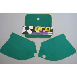 Adesivi tabelle portanumero colore verde Suzuki RM Kawasaki KX 1993-1998