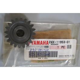 ingranaggio valvola scarico Yamaha YZ-WR 125 1983-2001 YZ-WR 250 1988-2001 24X-11953-01