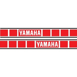 adesivi serbatoio Yamaha YZ 125-250 1978-1979-1980 YZ 400 1978-1979 YZ 465 1980 REPLICA