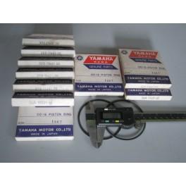 serie fasce elastiche segmenti originali Yamaha YZ-WR 250 1984-1990 39X-56A-11601-00-20-30