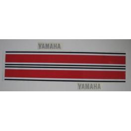 Adesivi serbatoio Yamaha YZ  125 250 360 1974 non originali